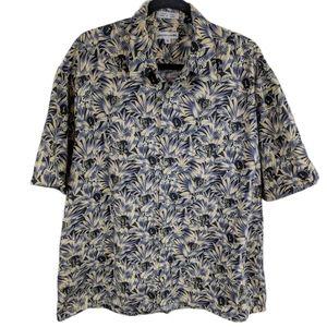 Pierre Cardin Vintage Hawaiian Style Shirt Sz XL